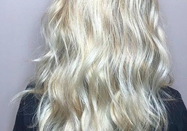 Mechas Melting Blonde