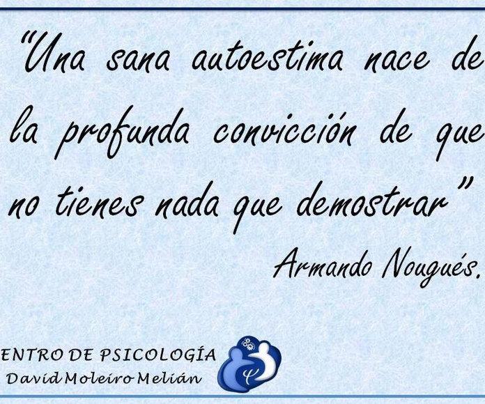 Autoestima: Tratamientos o terapias de Centro de Psicología David Moleiro Melián