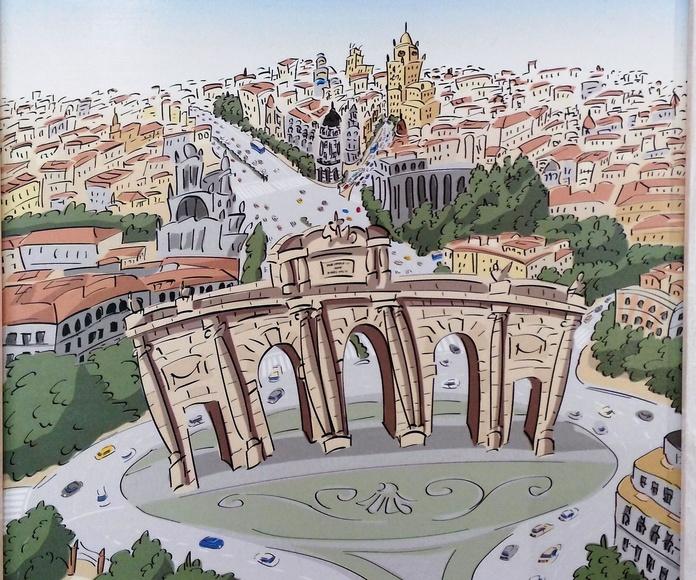 Puerta de Alcala: CATALOGO de Quadrocomio La Casa de los Cuadros desde 1968