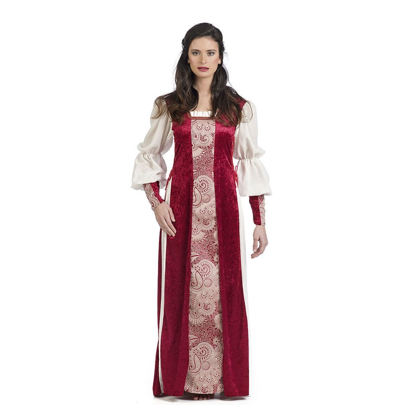 Disfraz dama medieval mujer Aldara