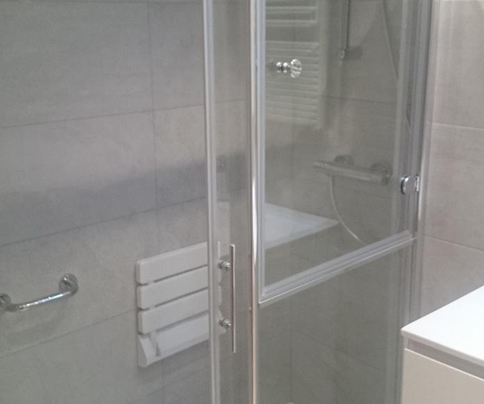 Reforma baño MINUSVALIA