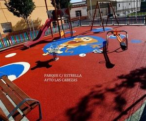 Pavimentos de corcho para parques infantiles en Granada