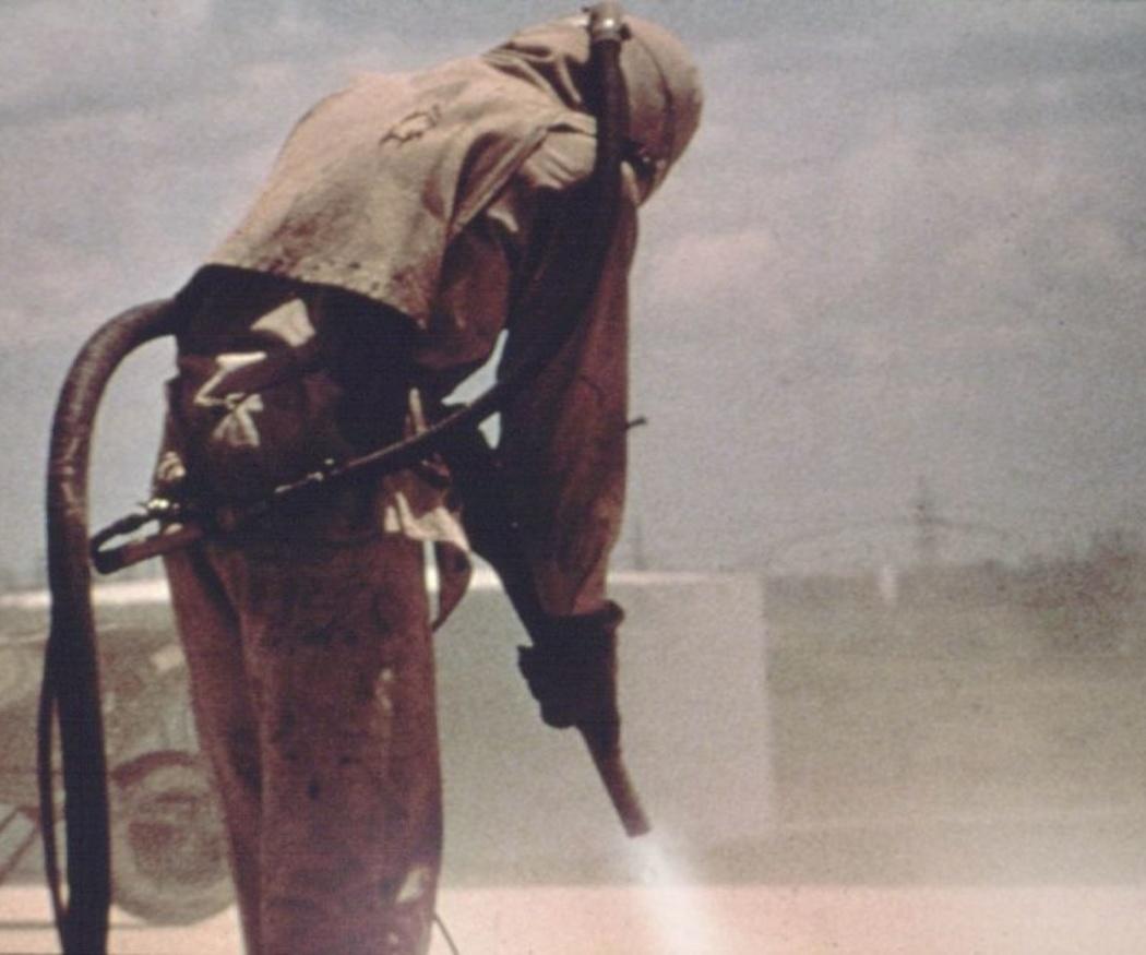 Medidas de protección para trabajos de granallado