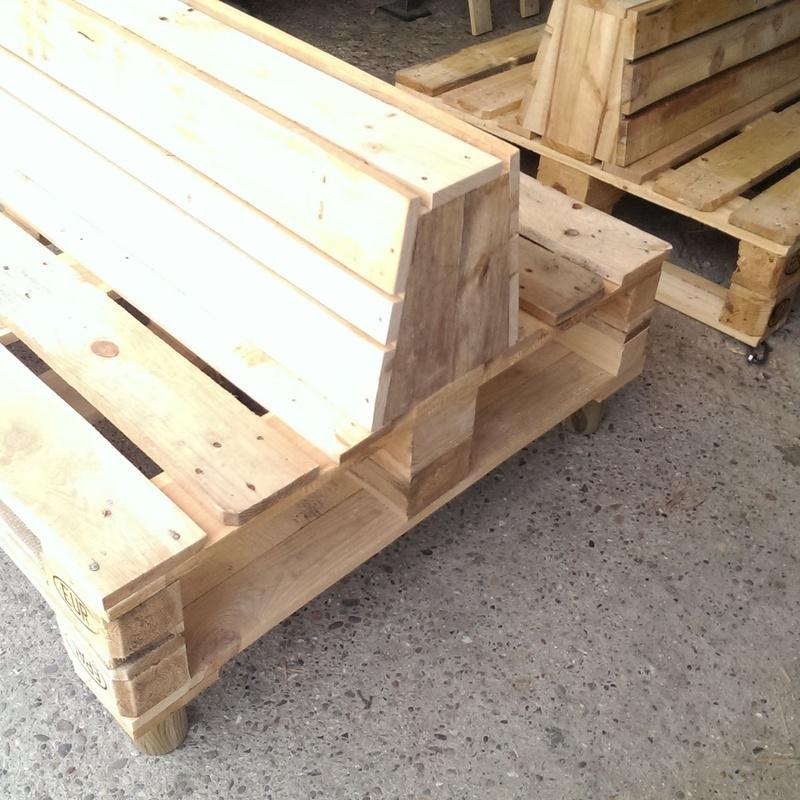 Muebles de palets: Productos y servicios de Embalajes Vera