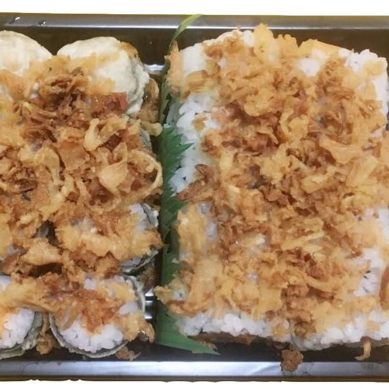 Maki frito variado 3 (16p) 14.50€: Carta de Tairyo Restaurant Japanese