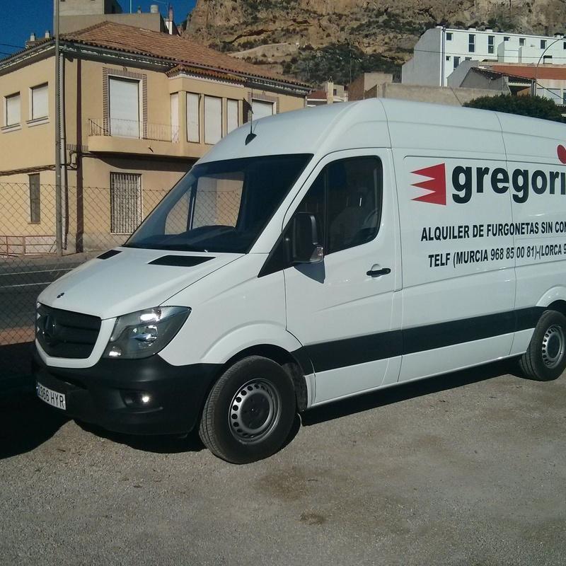 MERCEDES 11.5 CUBIC METRE: Catalogue de Gregorio Rent of Vans without driver