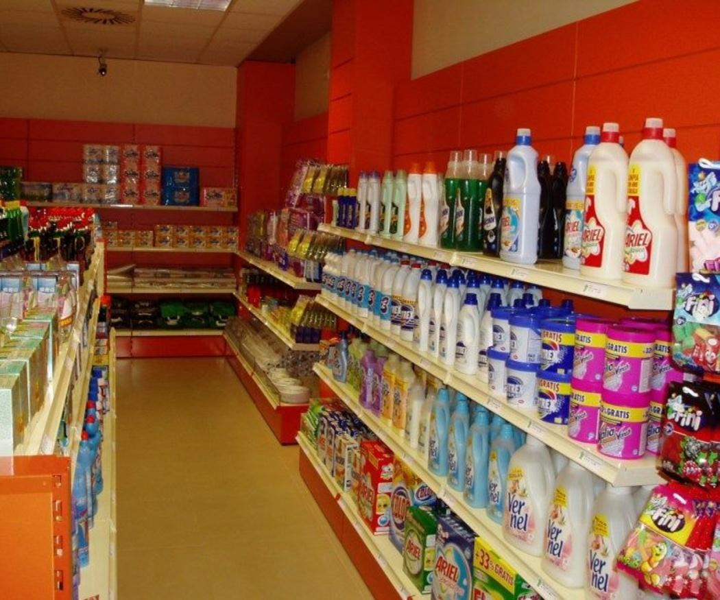 Exhibición de productos para mejorar las ventas