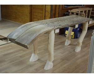 Mesa con forma de caballo