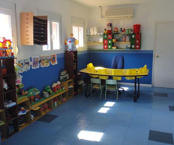 Aula de nuestro jardín de infancia