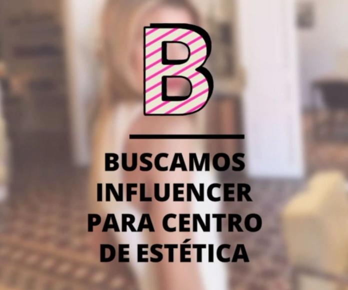 Influencer para centro de estética
