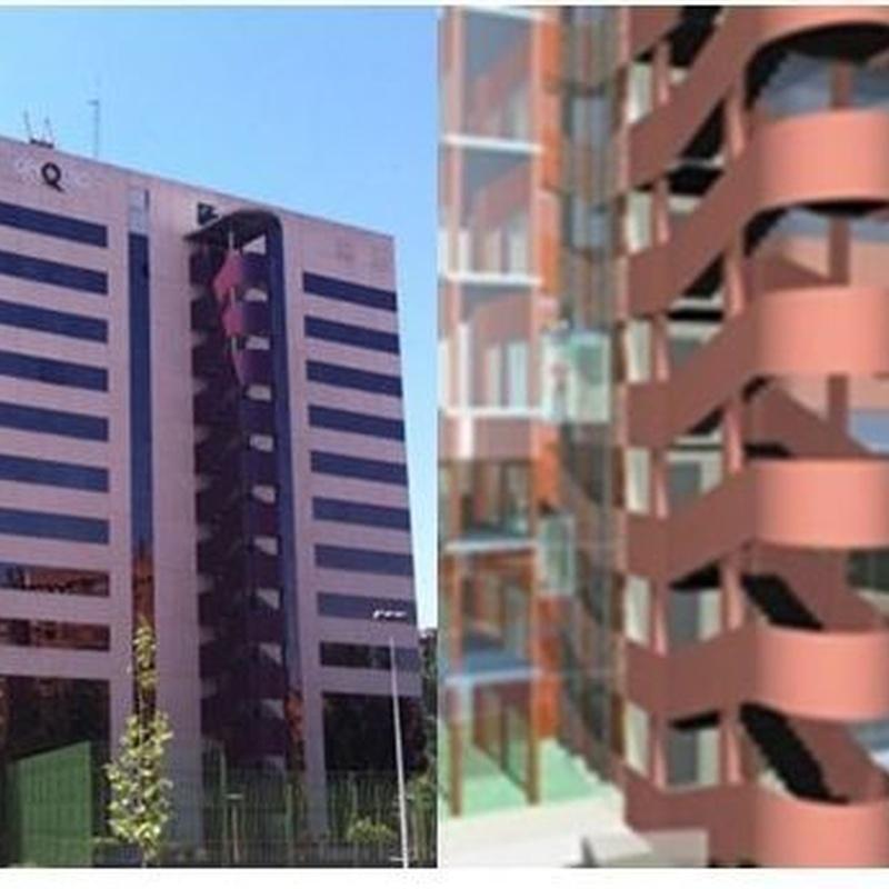 Rehabilitación viviendas Av. Burgos - Madrid