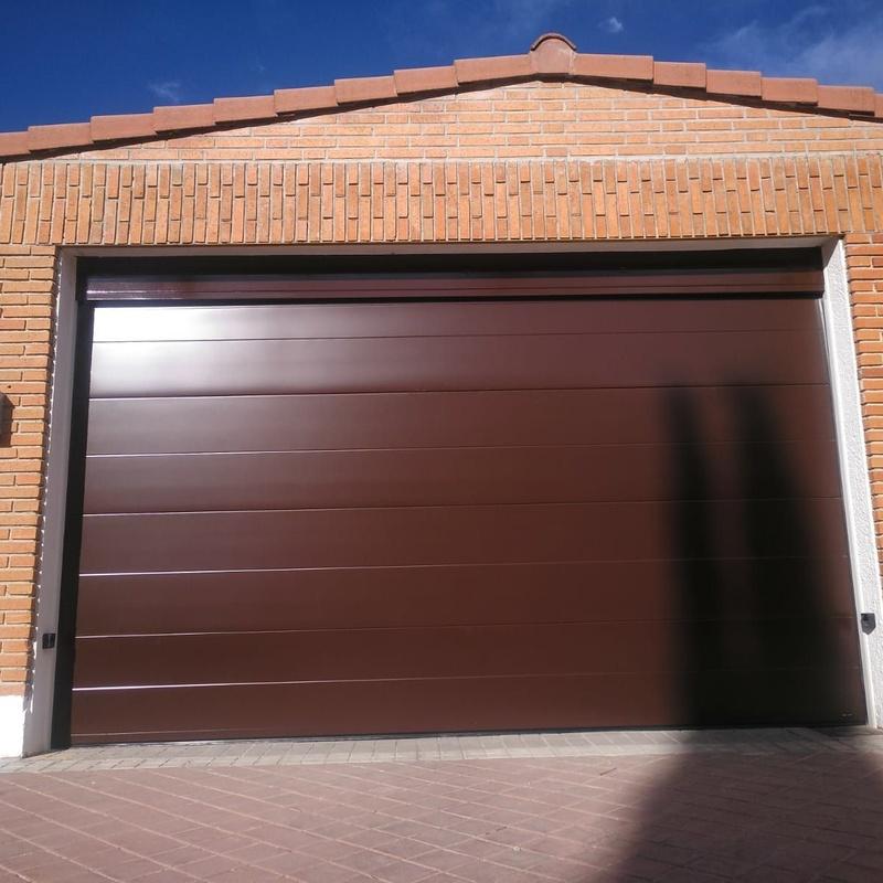 Puertas de garaje: Catálogo de Alféizar