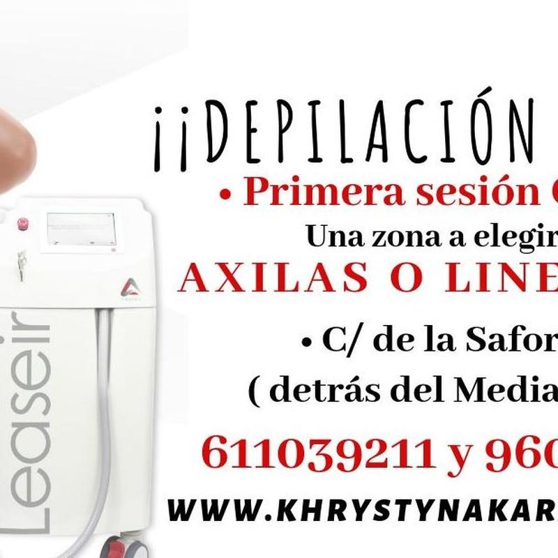 Depilación Láser diodo Valencia| khrystyna karasenko