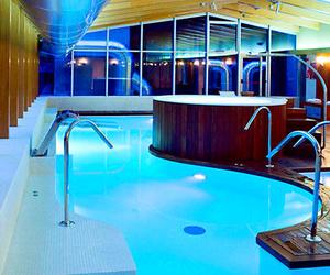 Instalación en el Hotel Meliá Avenida de América - Tarima de Exteriores en Elondo. Spa