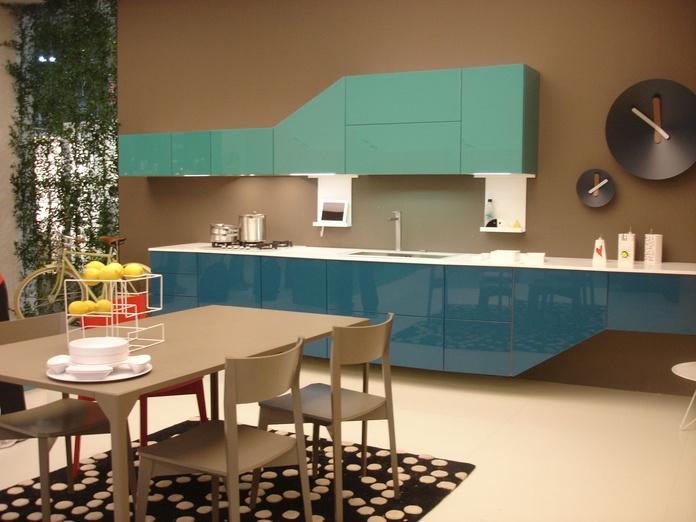 Cocina azul : Catálogo de Muebles Fhoa