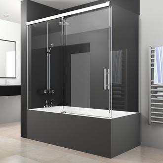 Mamparas correderas de ducha y bañera.