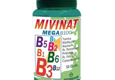 MIVINAT MEGA B100 en tu Centro dietetico Naturhouse Moratalaz