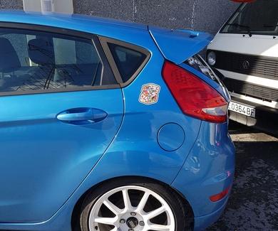Ford Fiesta - Alerón ST