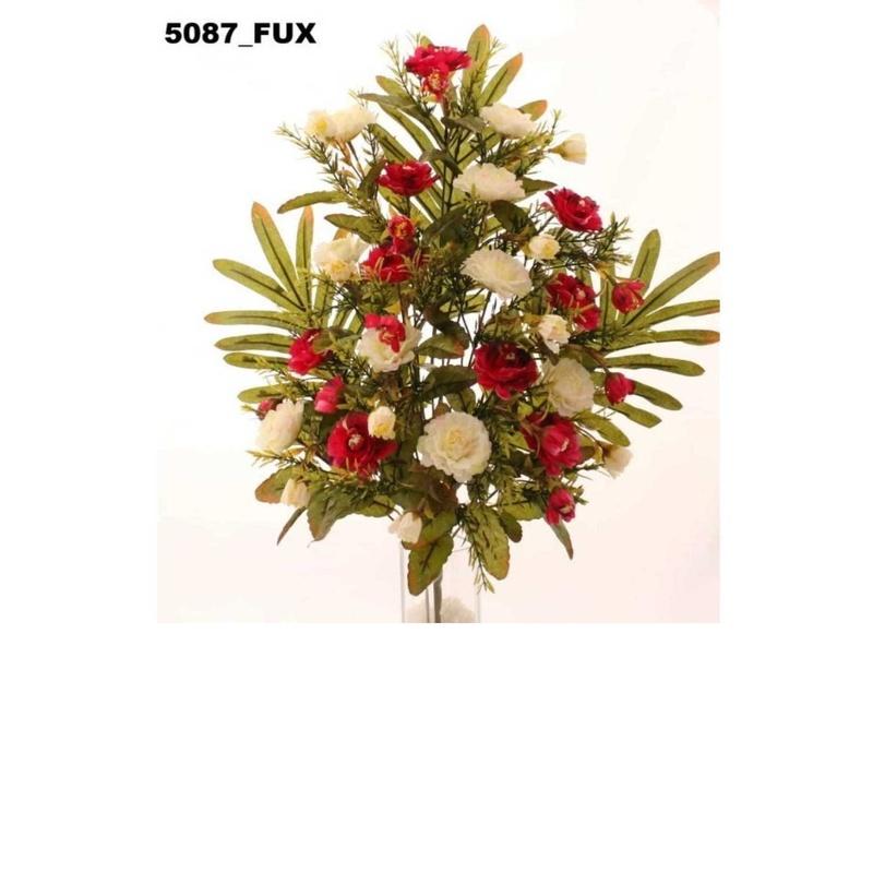 RAMO ENCARADO DALIAS X18. COLOR:FUXIA REF.:5087 FUX. PRECIO: 5,50 €