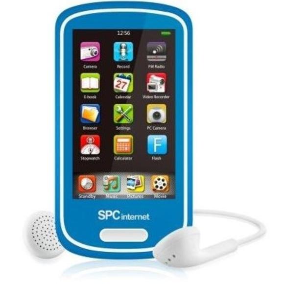 SPC Reproductor MP5 5074A 4GB tactil+camara Azul : Productos y Servicios de Stylepc