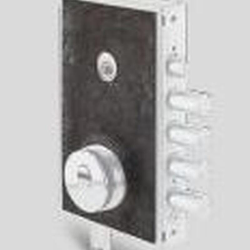 Chapa de Manganeso - Recubrimiento indispensable de la cerradura, ya que impide arrancar el escudo y protege de taladros