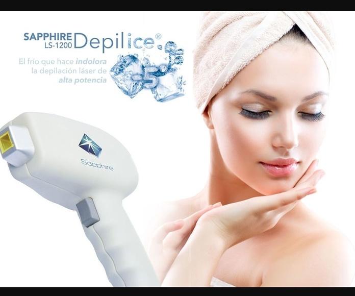Láser diodo Sapphire LS 1200: Servicios de Shock Beauty