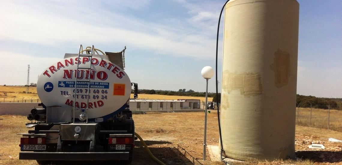 Camión cisterna de agua potable en Madrid (Centro) para abastecer tu vivienda