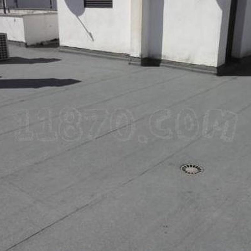 Impermeabilización con pizarrita gris: Servicios de Impermeabilizaciones Manuel Núñez Montero