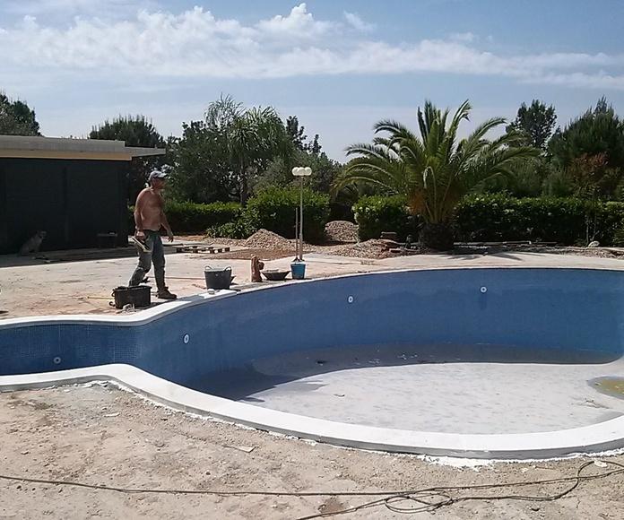 Instalación de piscinas: Servicios de Construcbrafim