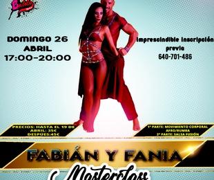 Masterclass salsa Con Fabian y Fania, Sabor a fuego
