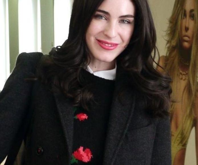 La modelo Maialen Fernandez en Llongueras Mirasierra