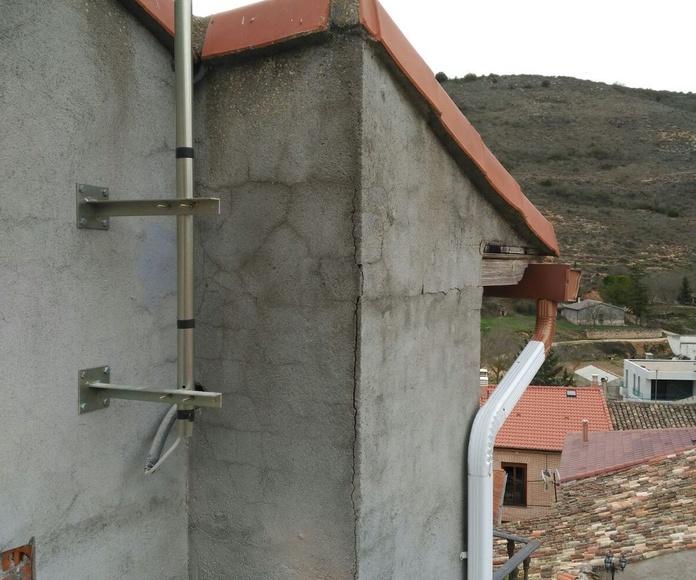 Impermeabilizar  fachada con Resina y fibra de vidrio