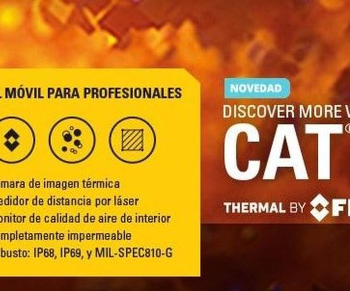 Móviles CAT: Productos y servicios de Easysat Comunicaciones