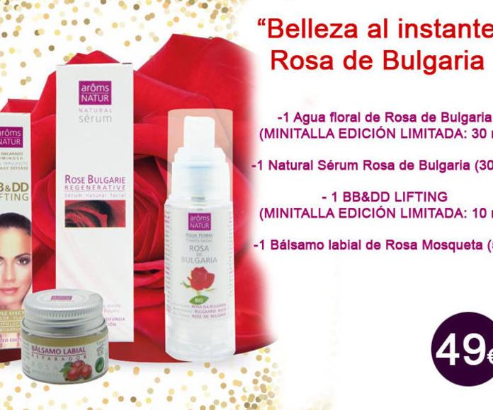 """PACK especial Navidad """"Belleza al instante"""" - Rosa de Bulgaria"""