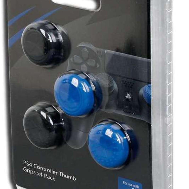 Grips 2 Azul + 2 Negros Precisión - PS4: Catalogo de Ocasiones La Moneta