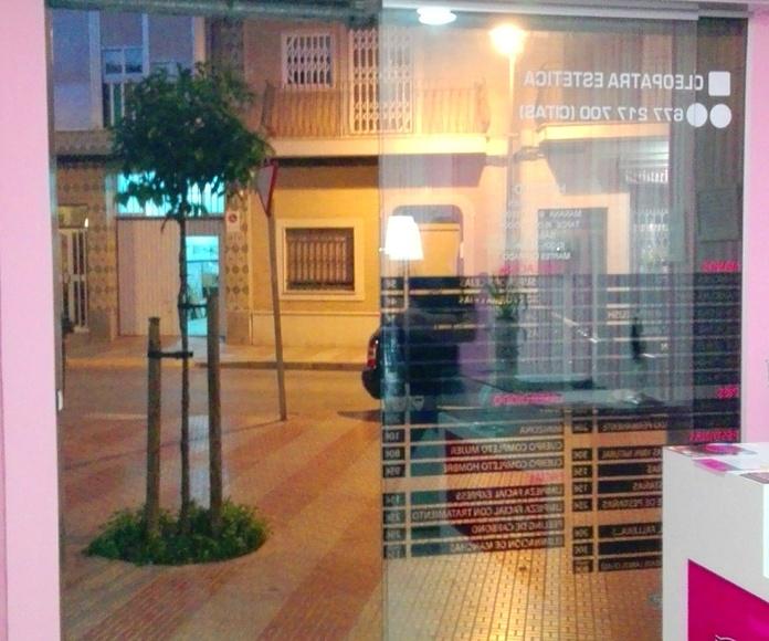 PUERTA AUTOMÁTICA DE CRISTAL RÁPIDA  FAREM DELUX 1 HOJA CANTOS PULÍDOS