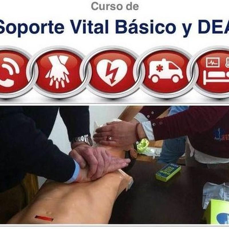 CURSO DESFIBRILADOR SEMIAUTOMATICO TENERIFE ARONA LOS CRISTIANOS. PRIMEROS AUXILIOS