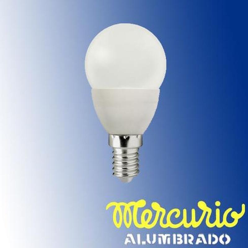 Bombilla LED esférica E-14 Asturias