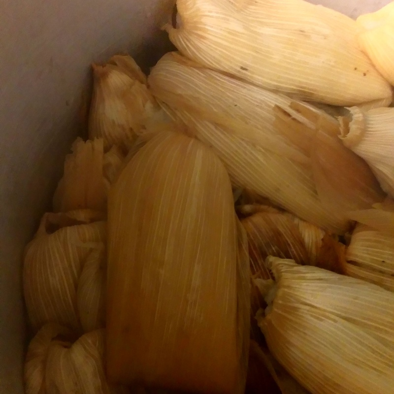 Tamales:  de Taquería El Mariachi