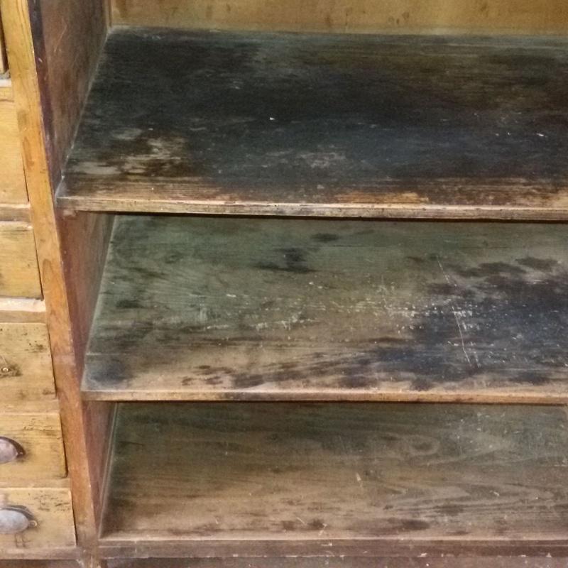 Estado  inicial del mueble.