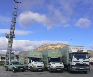 Camiones para la mudanza en logroño