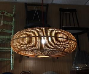 Lámpara de caña