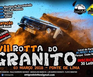 VII Passeio TT - ROTTA DO GRANITO