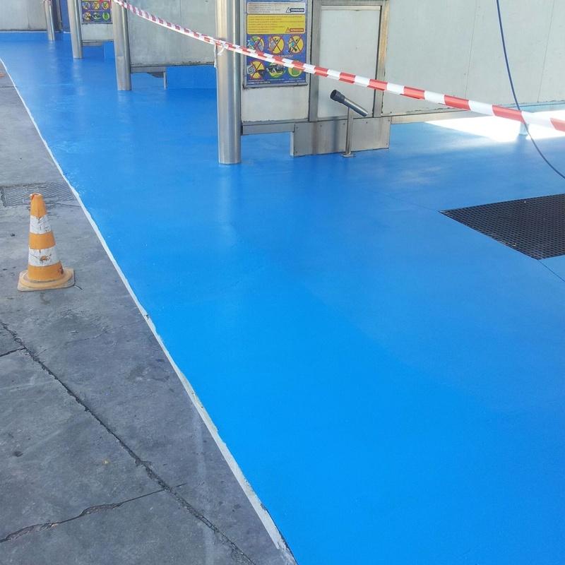 Pavimentos de poliuretano: Nuestros servicios de Pulimentos Molina