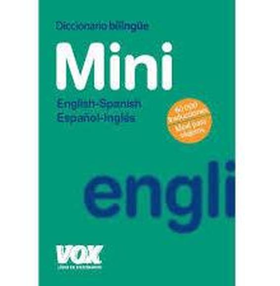 Dicc. mini inglés español