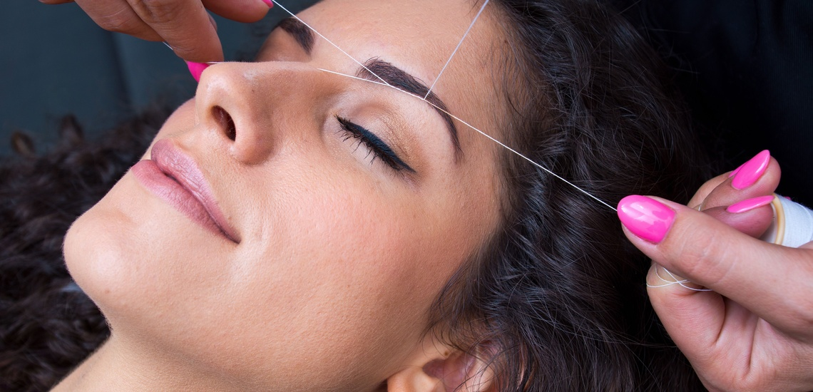 Depilación con hilo y tratamientos faciales en Basauri