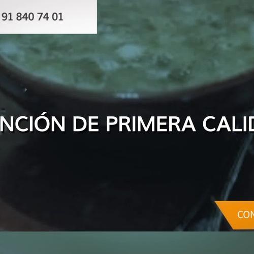 Cocina pulpo a la gallega Collado Villalba