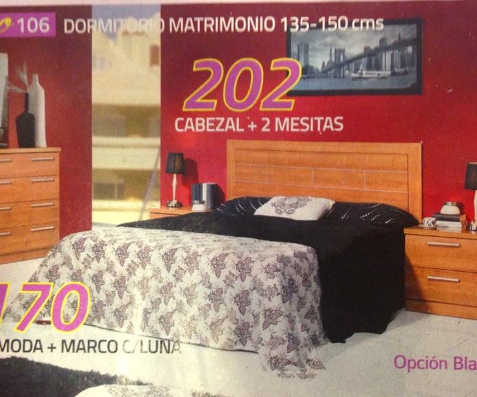 dormitorio mod.106: Productos  de Muebles Llueca, S. L.