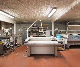 Tecnología propia láser: Servicios y productos de Troquels Geser