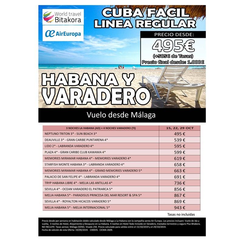 Cuba: Ofertas de Viajes Global Sur